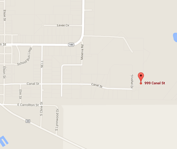 Map of 999 Canal Street, Magnolia, Ohio 44643